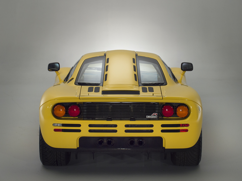 Delivery mileage McLaren F1 goes up for sale
