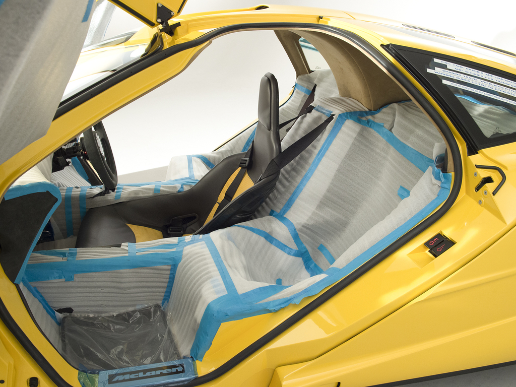 Never-registered McLaren F1 to be auctioned
