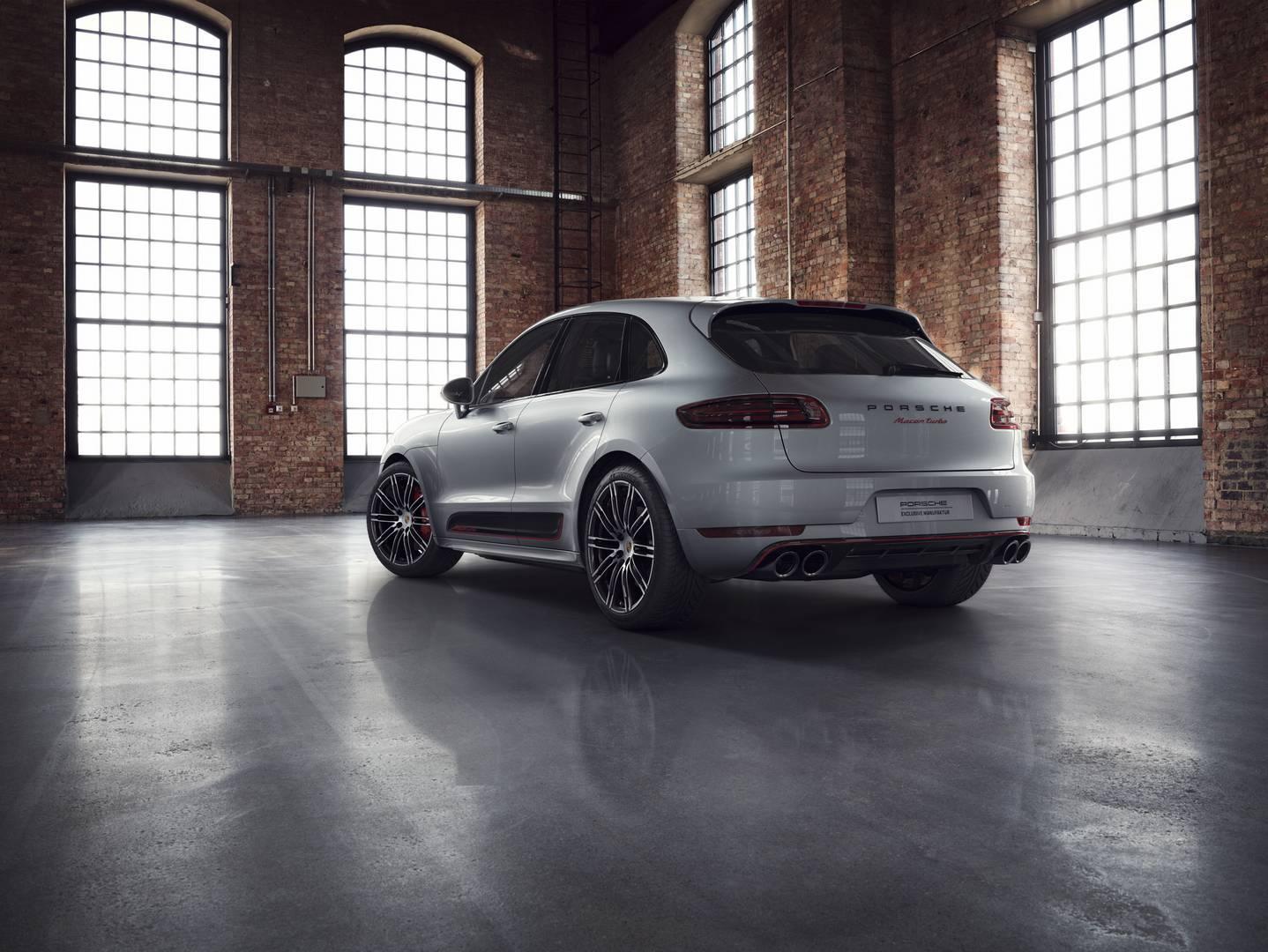 Official 2018 Porsche Macan Turbo Exclusive Performance