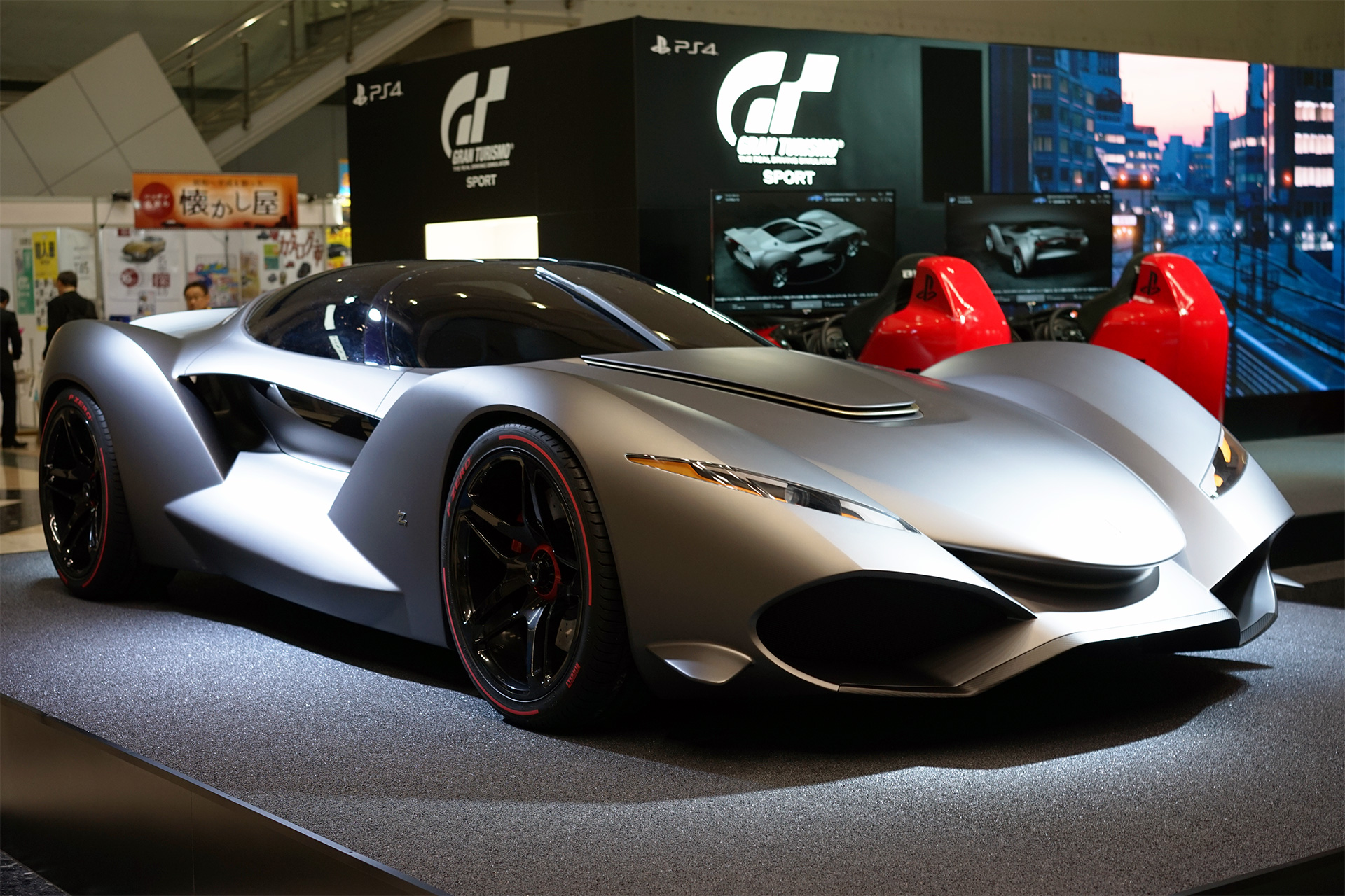 zagato isorivolta vision gran turismo debuts in tokyo. Black Bedroom Furniture Sets. Home Design Ideas