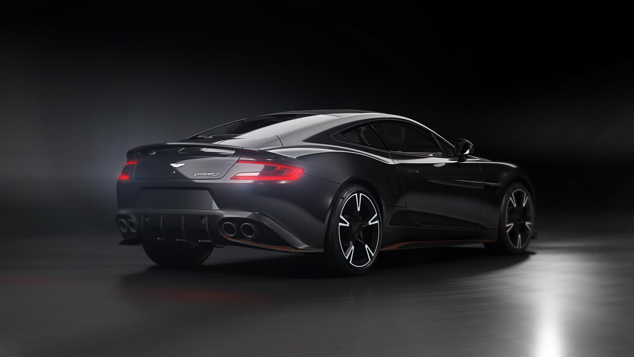 official 2018 aston martin vanquish s ultimate 175 units only gtspirit. Black Bedroom Furniture Sets. Home Design Ideas