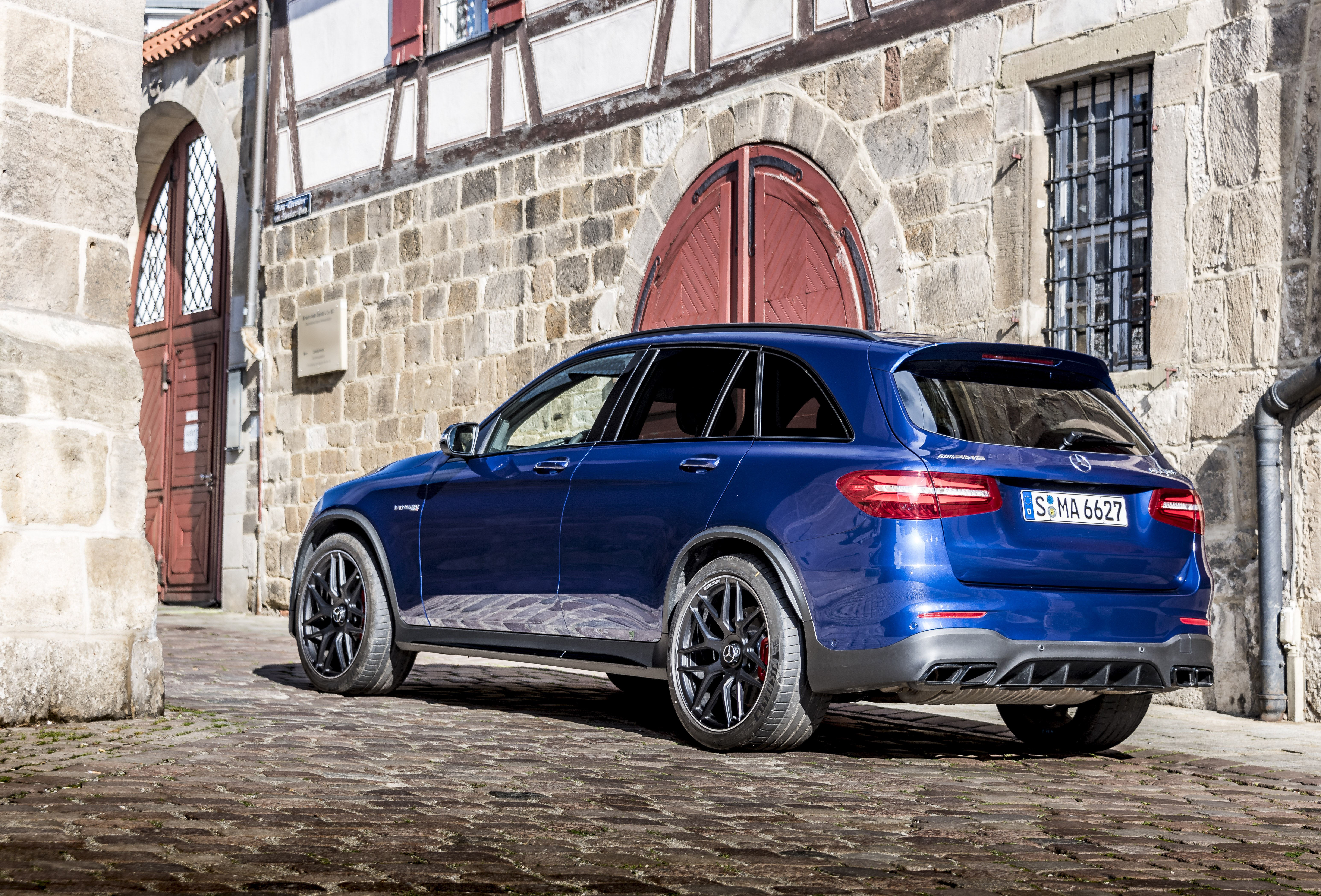 2018 mercedes-amg glc 63 s coupe review - gtspirit