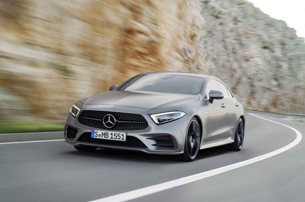 official 2018 mercedes benz cls gtspirit. Black Bedroom Furniture Sets. Home Design Ideas