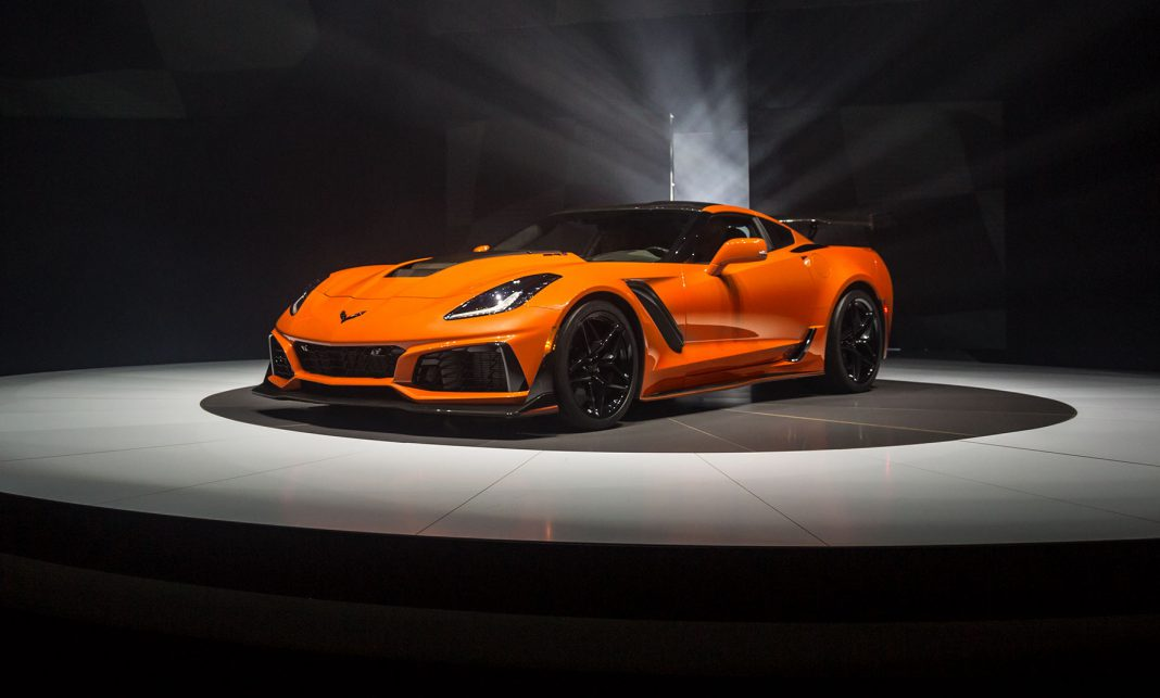 Corvette ZR1 Official Details