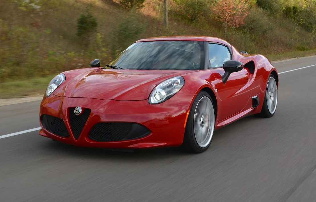 Review 2017 Alfa Romeo 4c Coupe Gtspirit Series 1 Supercar