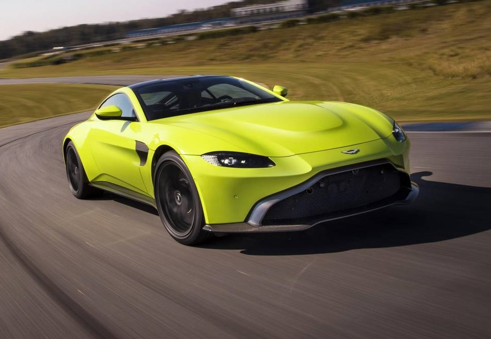 Official: 2018 Aston Martin V8 Vantage