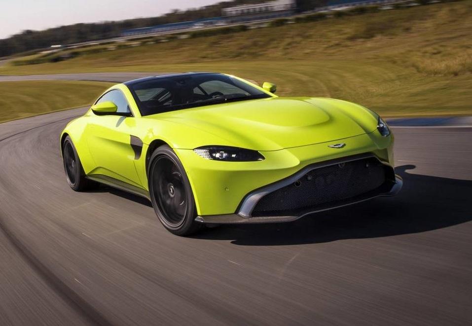Official Aston Martin V Vantage GTspirit - Aston martin v8 vantage 2018