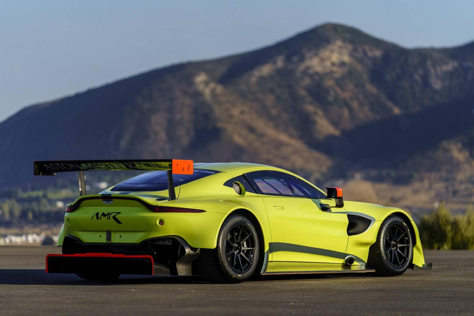 Official Aston Martin Vantage GTE GTspirit - 2018 aston martin vantage