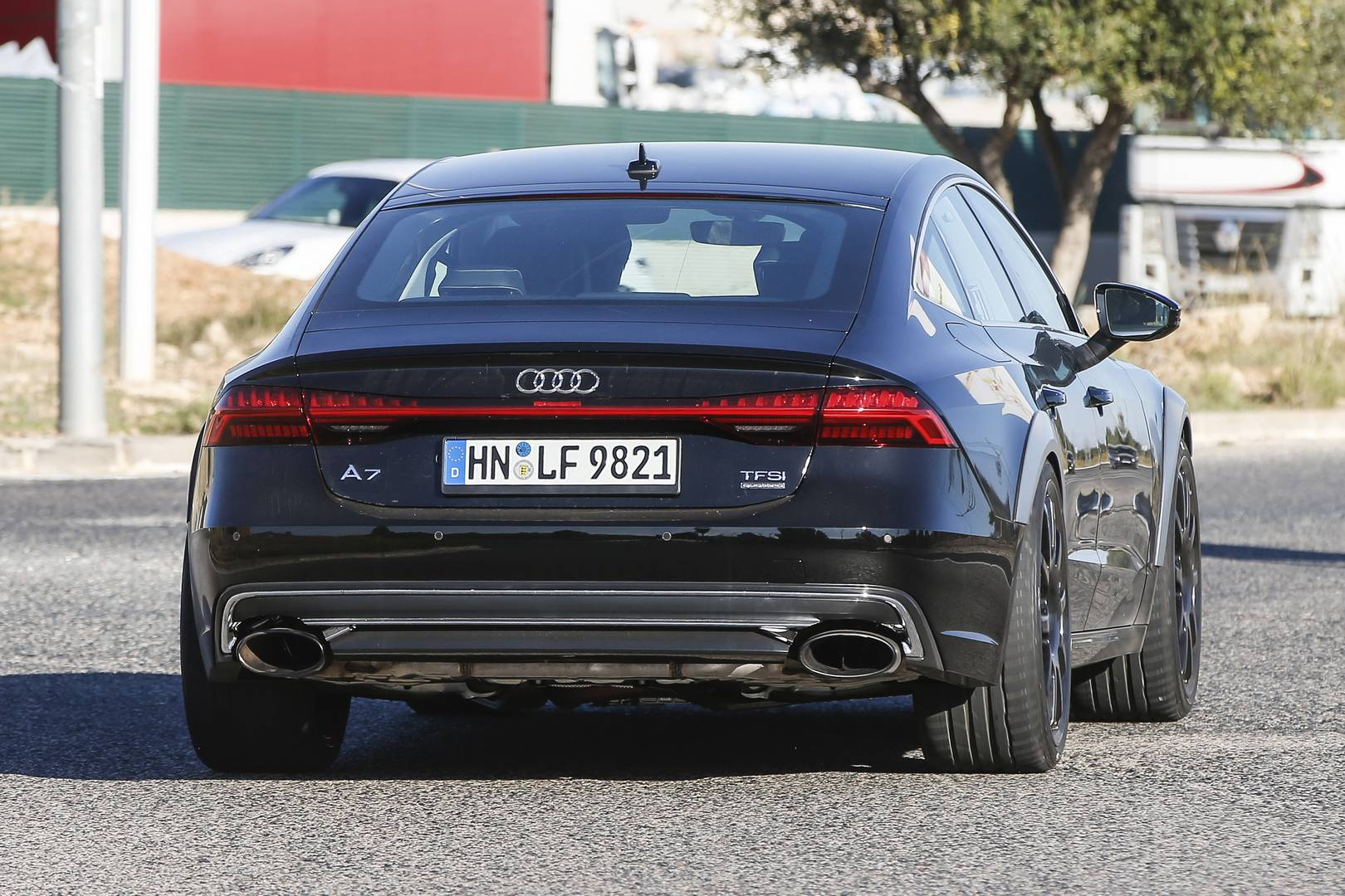 Audi rs7 top speed