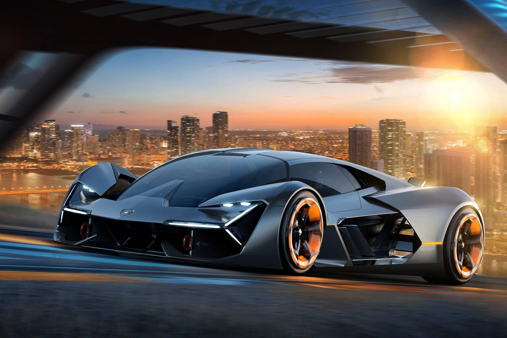 Official: Lamborghini Terzo Millennio – Full Electric Concept