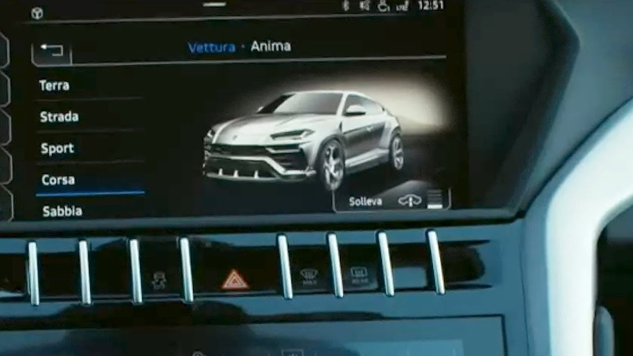 "Lamborghini Urus ""Accidentally"" Shown on Corsa Mode Video"