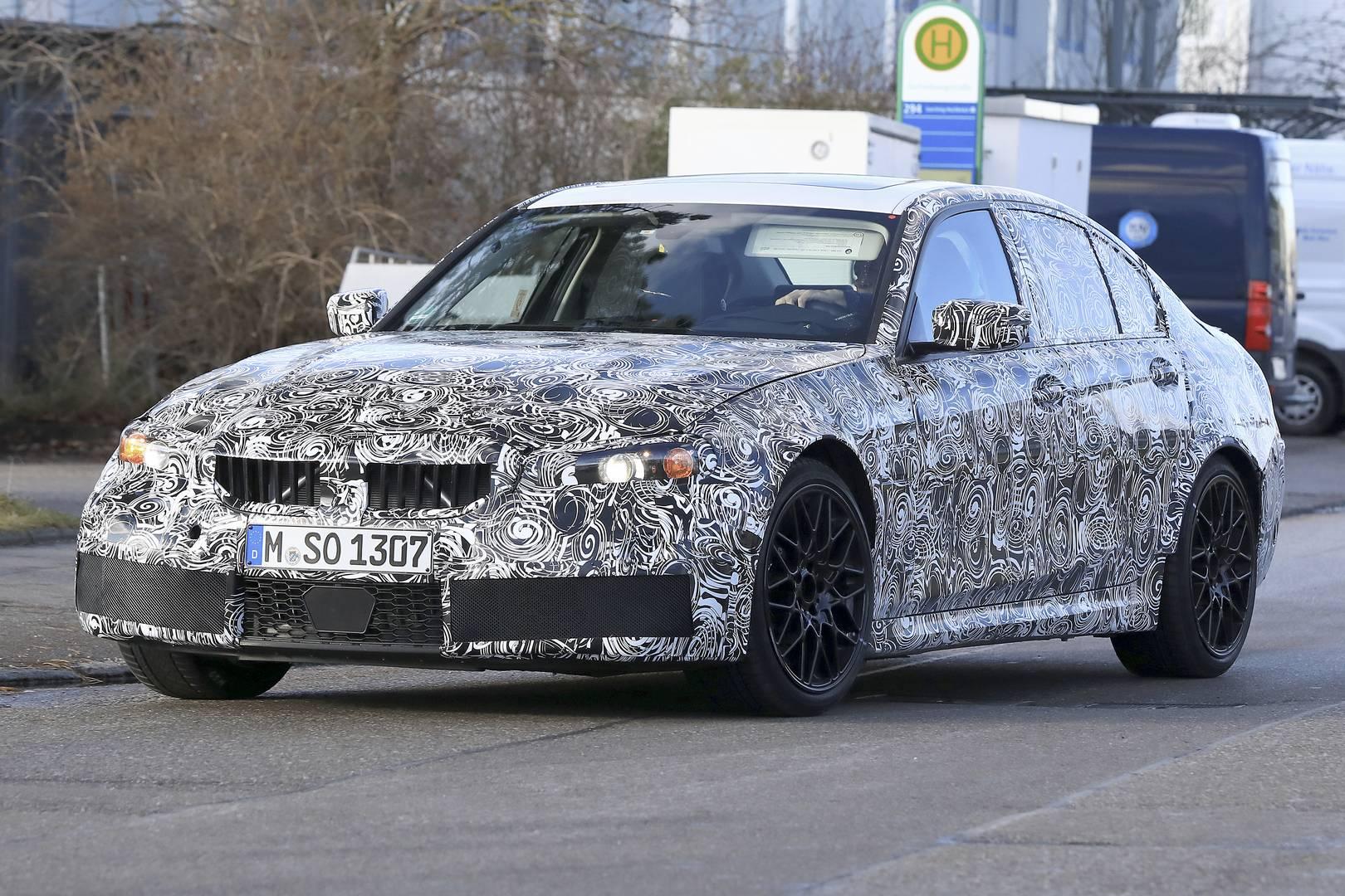 Supra Spy Shots >> 2020 BMW G80 M3 First Spy Shots - GTspirit