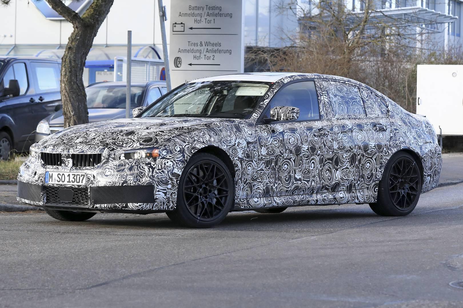 Bmw 3 Series G20 >> 2020 BMW G80 M3 First Spy Shots - GTspirit