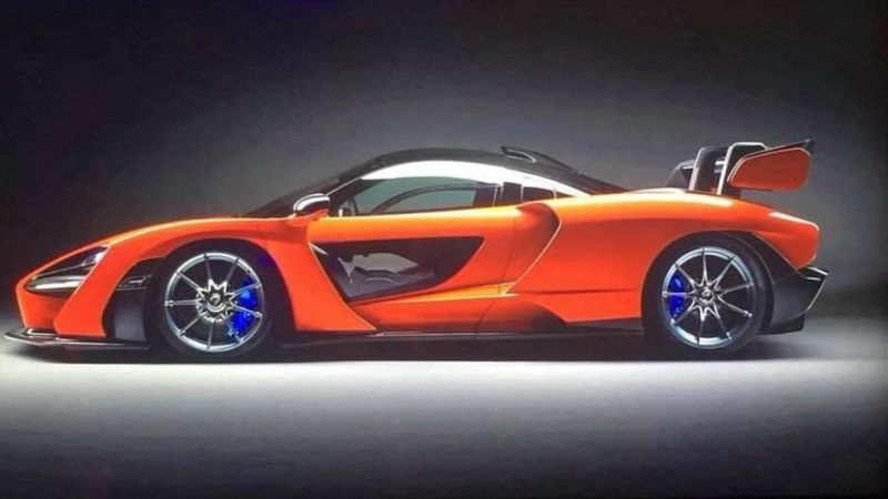 McLaren Senna Unveiled At McLaren Winter Ball 2017