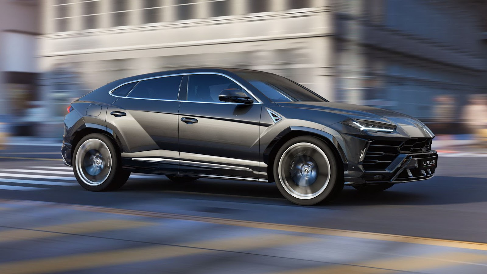Lamborghini Unveiled The Once Improbable Urus SUV As It Seeks To Expand Its  Factory To Meet Utility Vehicle Demand.