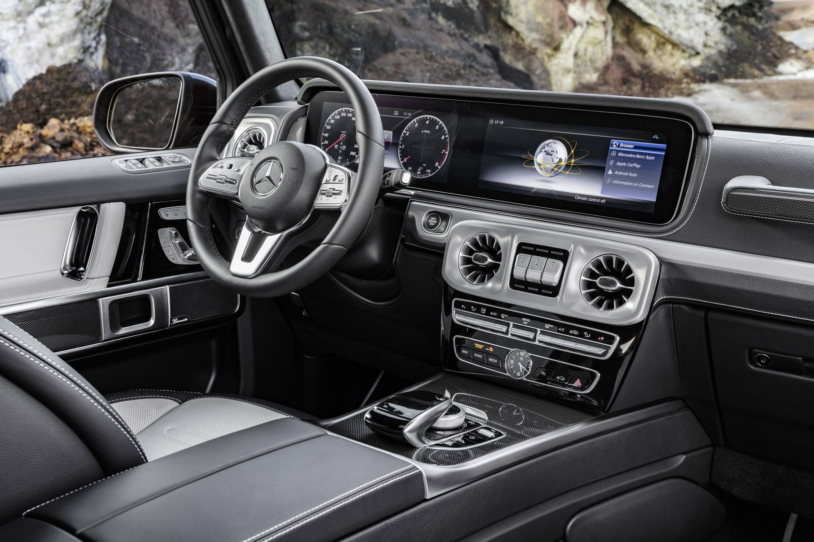 Mercedes G-Class Interior Revealed, All-New SUV Debuts In Detroit