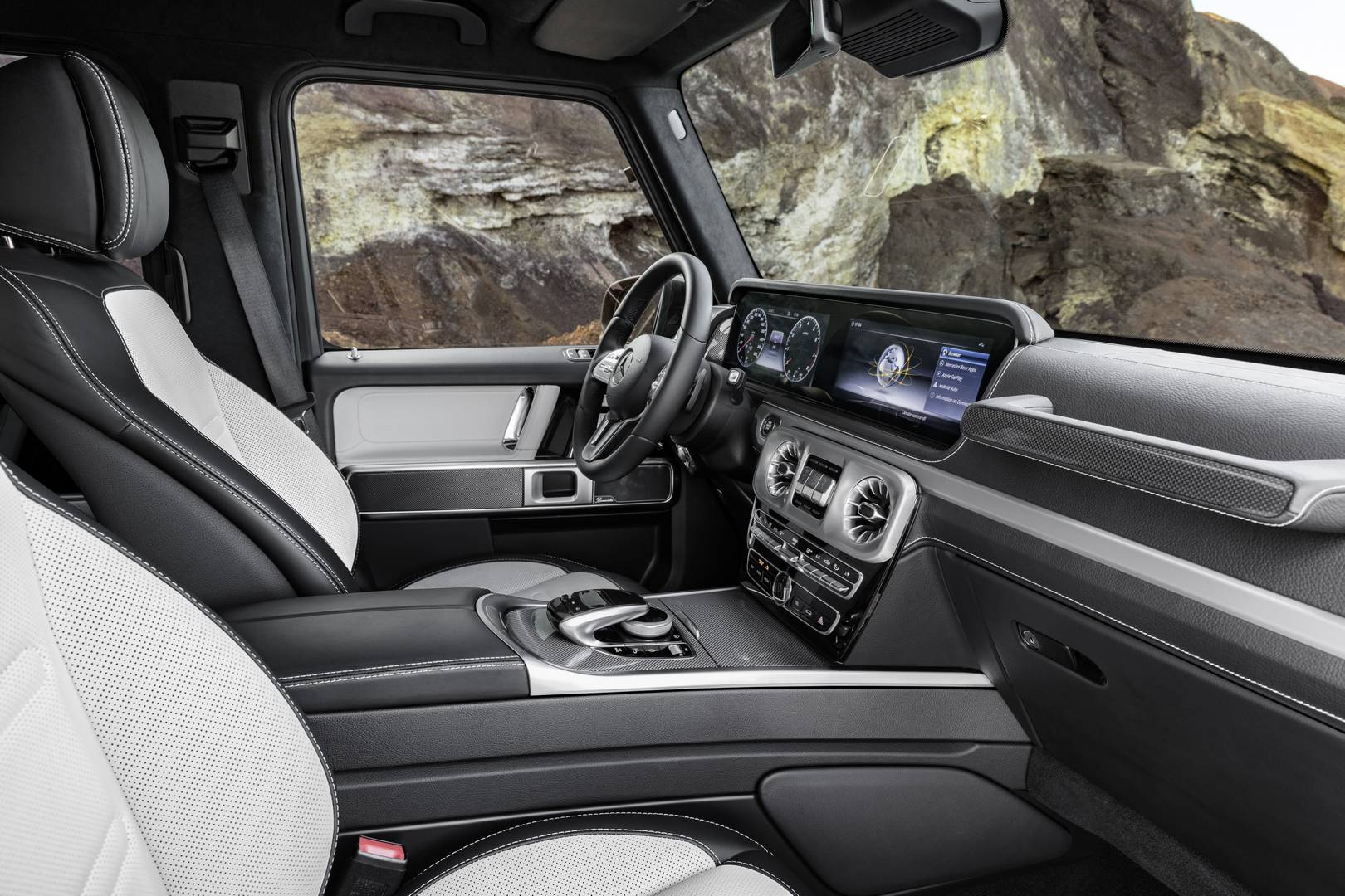 New Mercedes Benz G Cl Interior 1 Of 6 Most Importantly