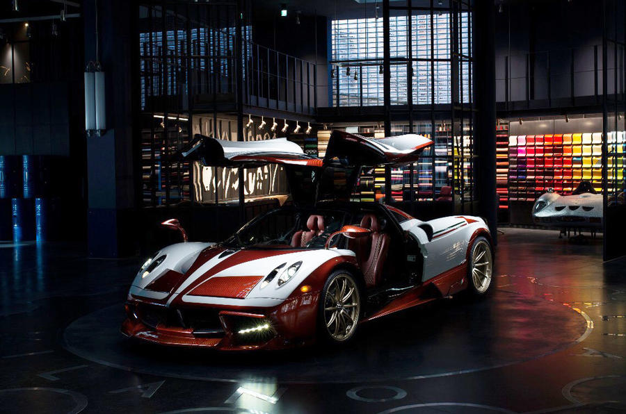 One Off Pagani Huayra Lampo Created for Garage Italia