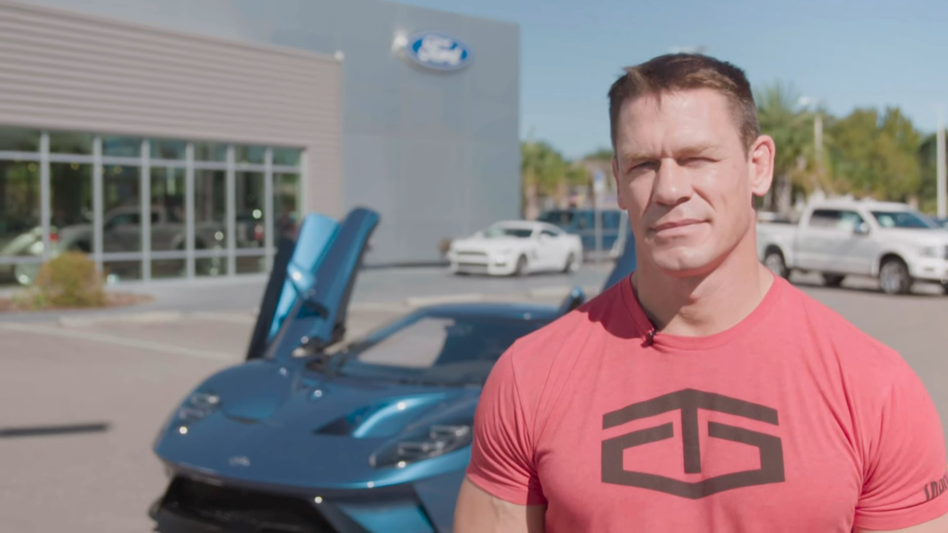Ford Sues John Cena for Selling His New 2017 Ford GT
