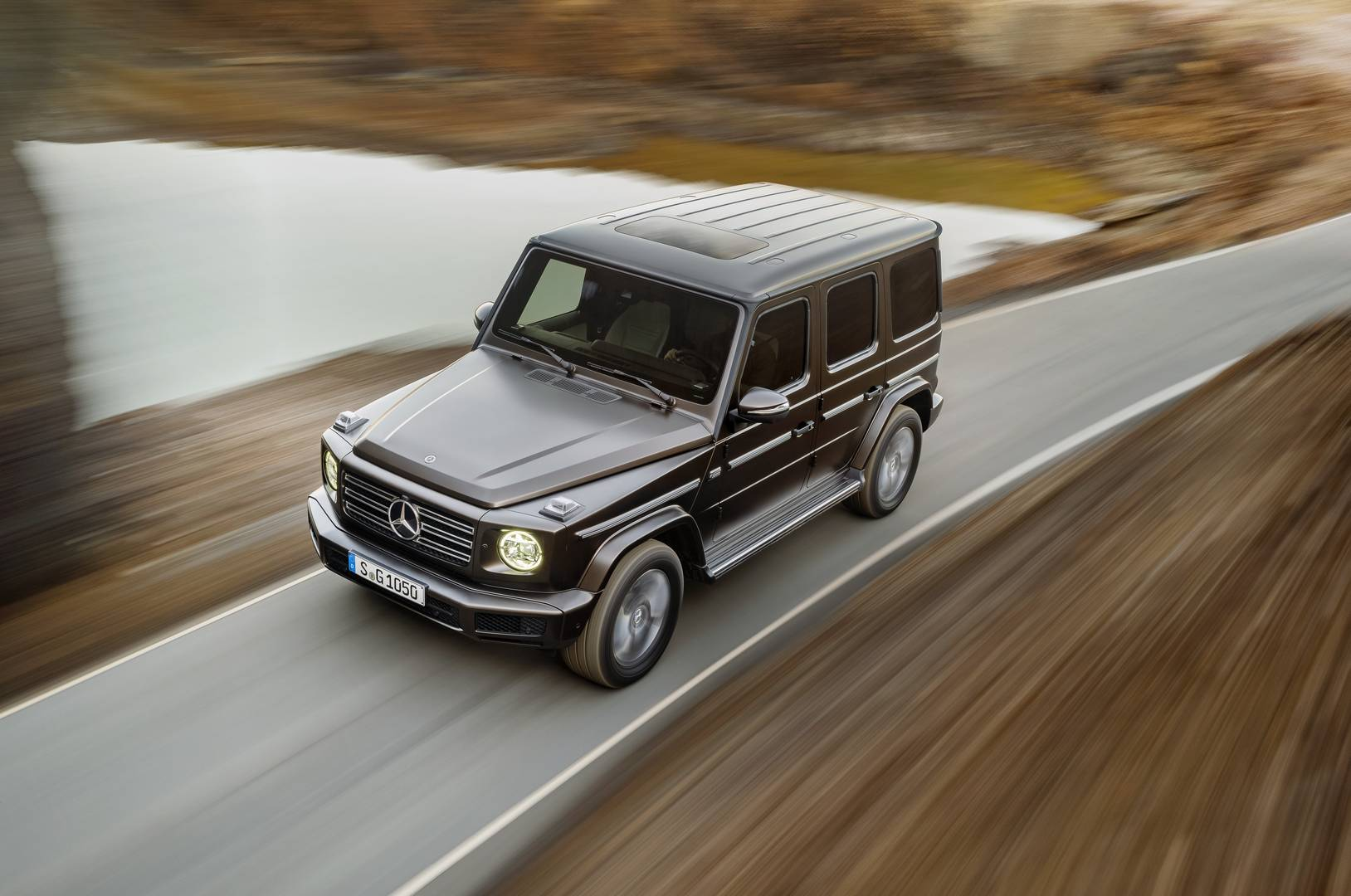 official 2018 mercedes benz g class gtspirit. Black Bedroom Furniture Sets. Home Design Ideas