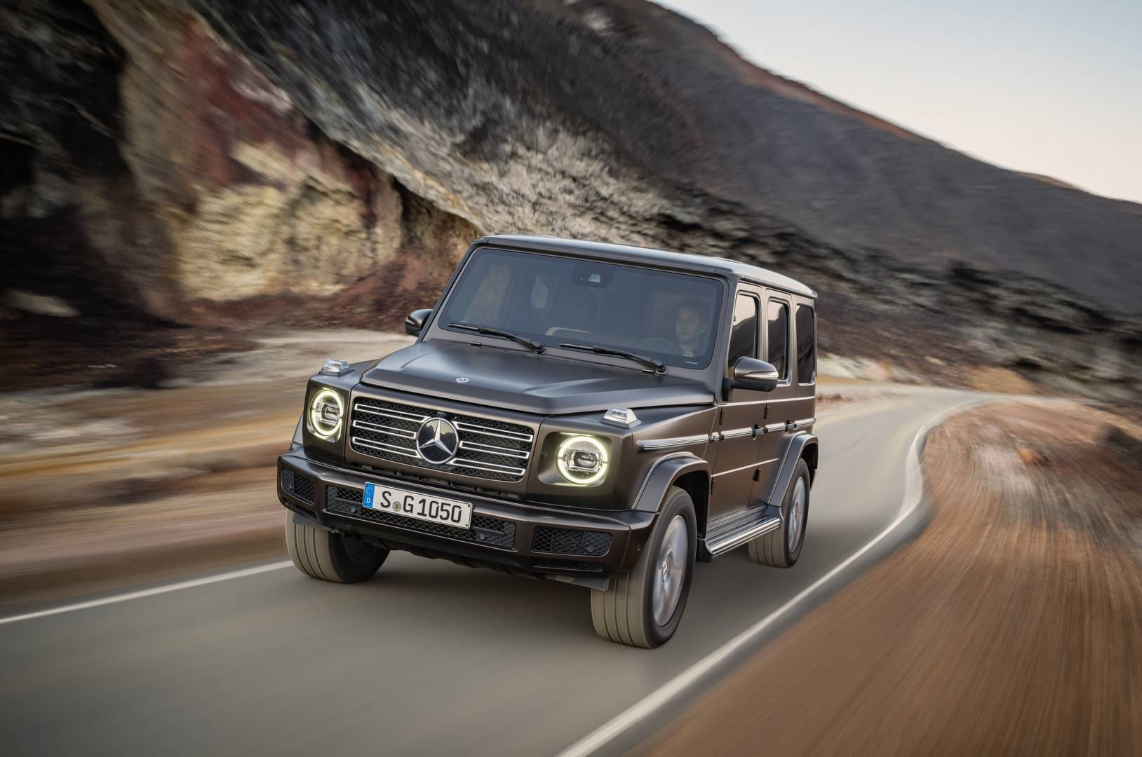 Official 2018 mercedes benz g class gtspirit for Mercedes benz g class pictures