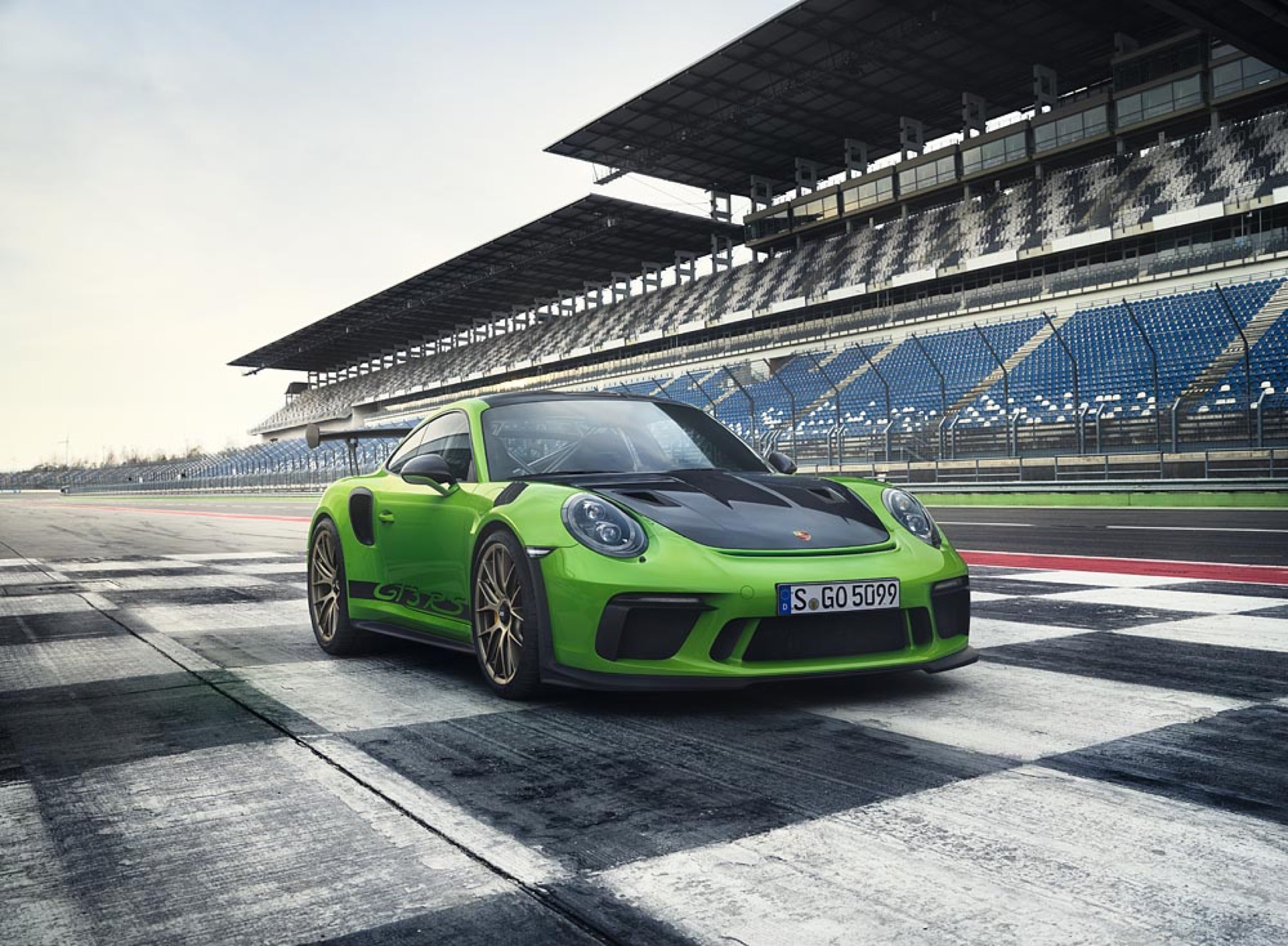 Official: 2019 Porsche 911 GT3 RS (Type 991.2)