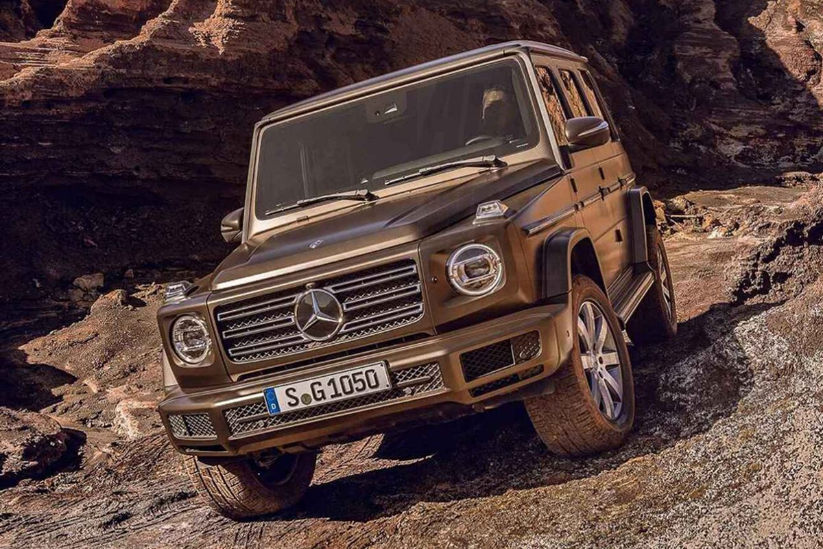 2019 Mercedes-Benz G-Class Leaked Ahead of Detroit Debut
