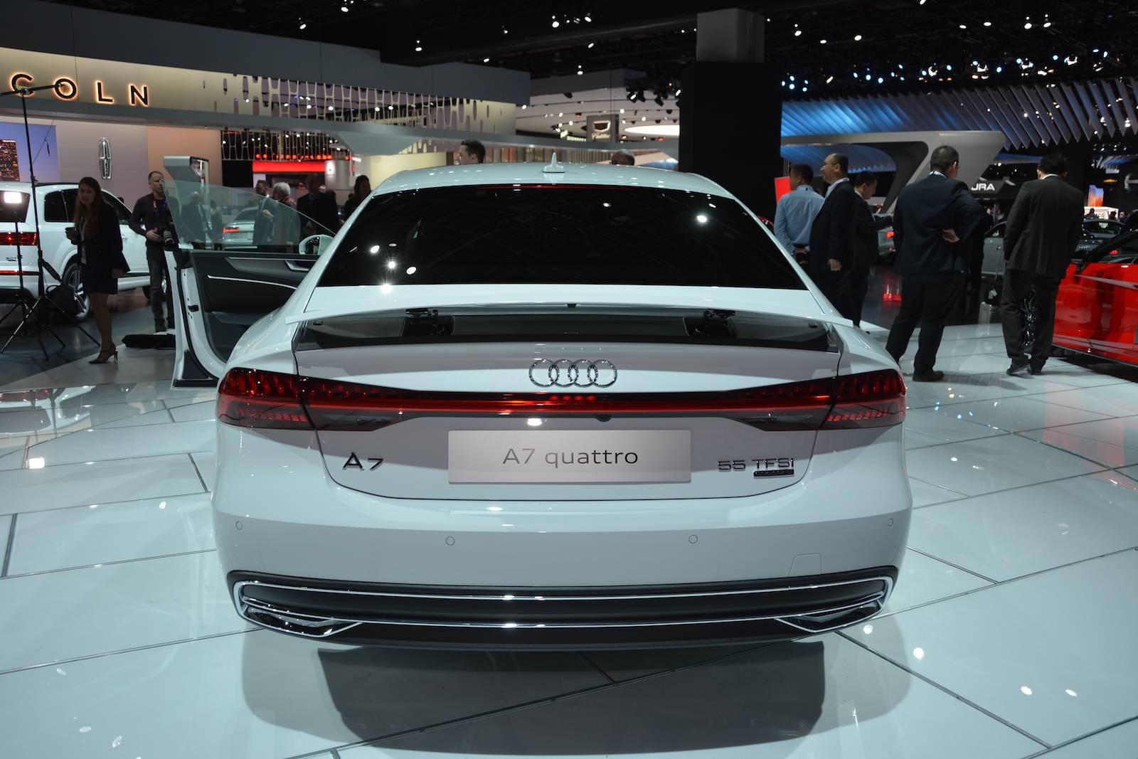 Audi A7 3.0 T >> Detroit 2018: Audi A7 Sportback - GTspirit