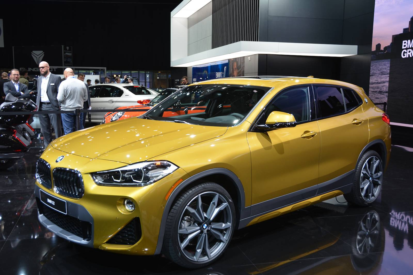 Detroit 2018 Bmw X2 Gtspirit