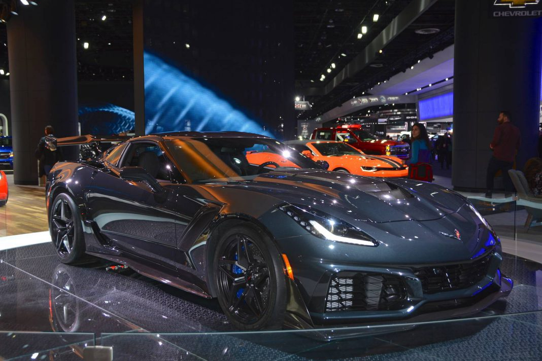 Detroit 2018 Chevrolet Corvette Zr1 Gtspirit