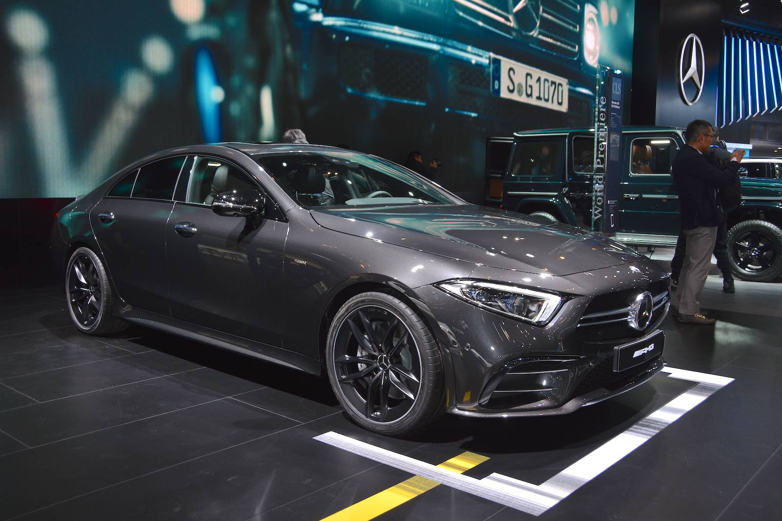 detroit 2018 mercedes amg cls 53 gtspirit. Black Bedroom Furniture Sets. Home Design Ideas