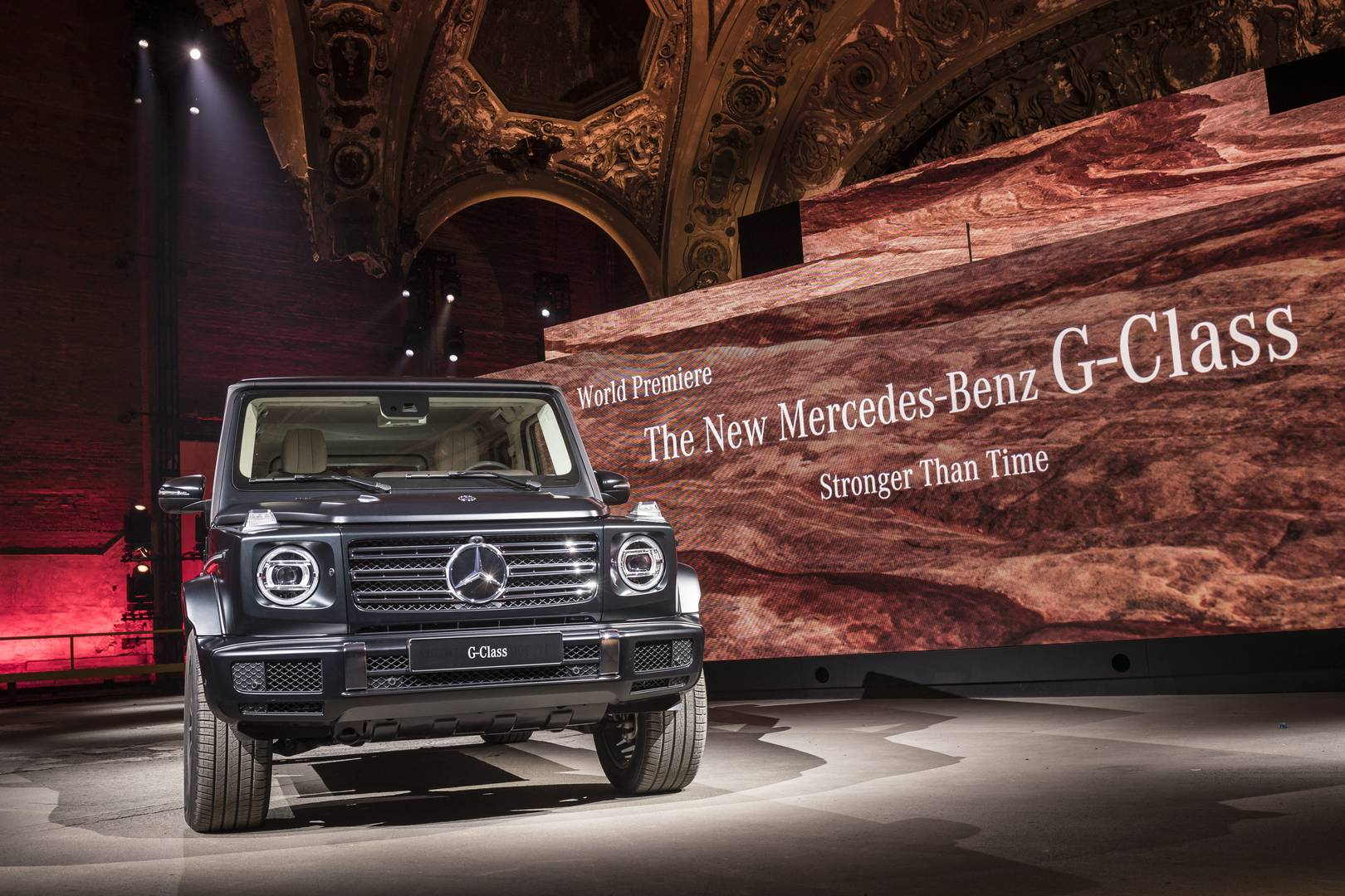 Detroit 2018 what else did we learn at the new g class for Mercedes benz clase g