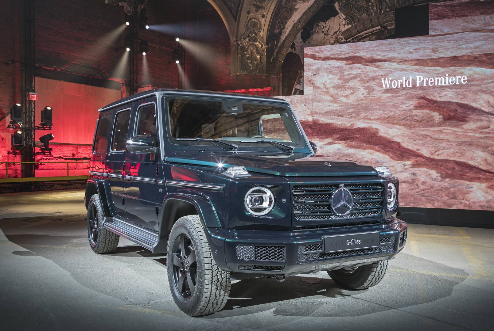 detroit 2018 what else did we learn at the new g class unveil gtspirit. Black Bedroom Furniture Sets. Home Design Ideas