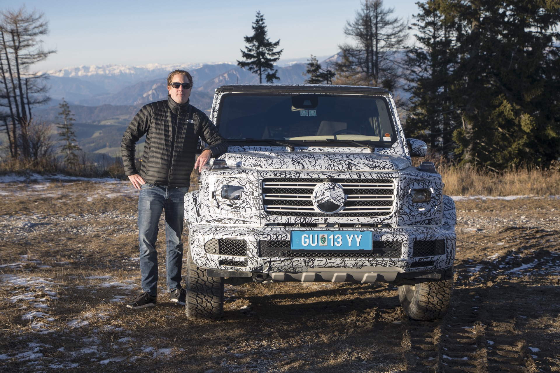 Video: First Ride with the New Mercedes-Benz G-Class at the Famous Schöckl