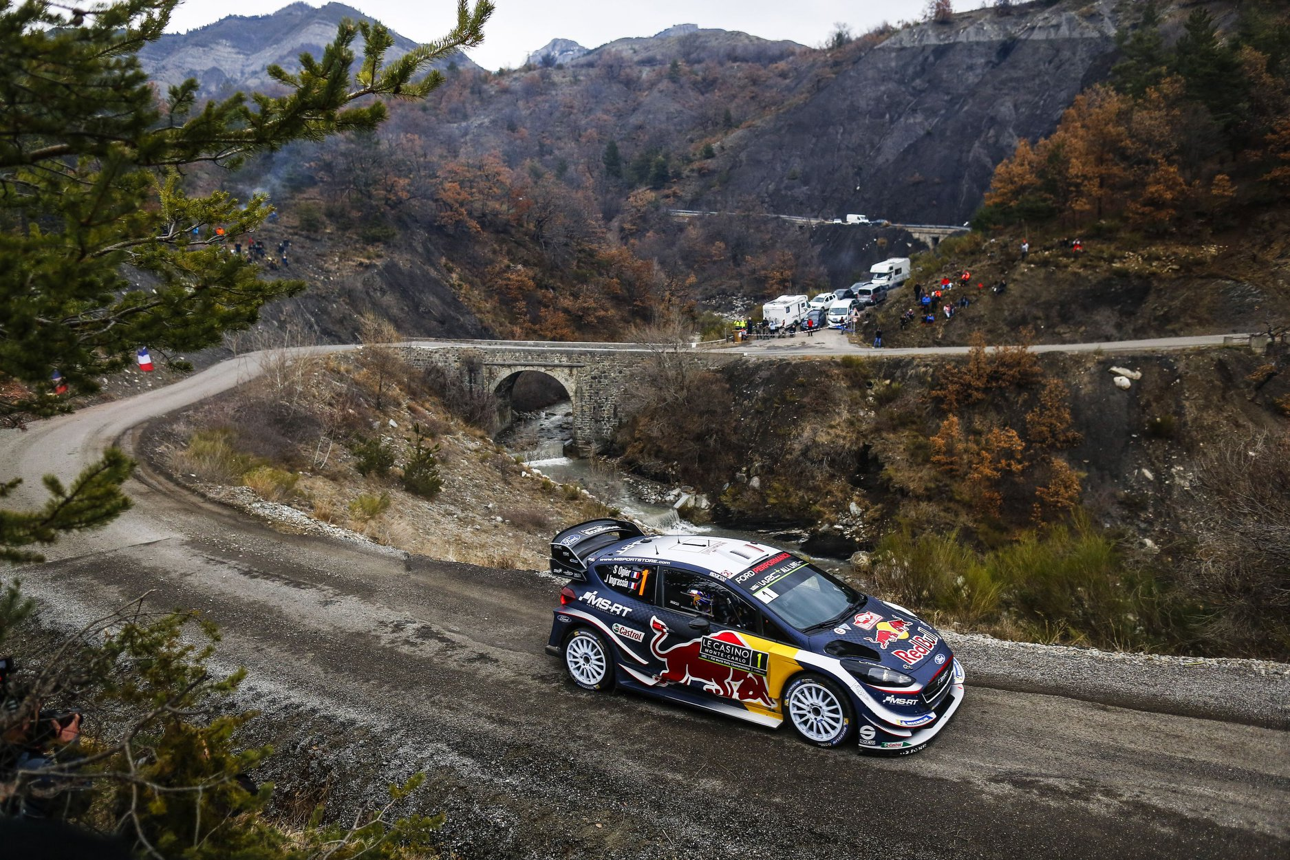 wrc ogier wins season opener at rally monte carlo 2018. Black Bedroom Furniture Sets. Home Design Ideas