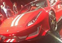 Leaked Ferrari 488 GTO