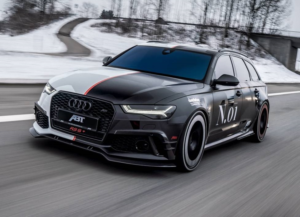 Official: Jon Olsson's ABT Audi RS6+ with Split Camo - GTspirit