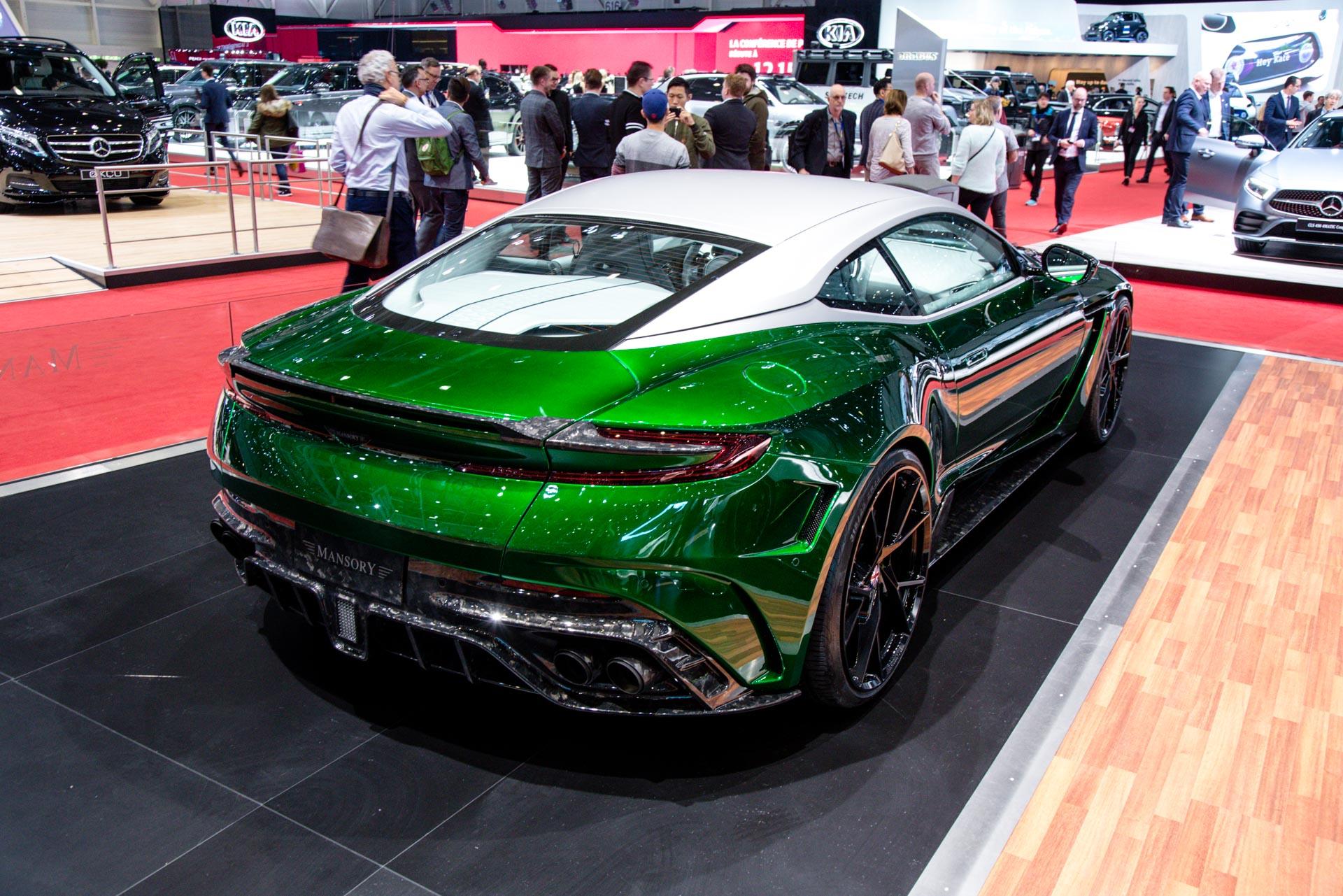 Mansory at the geneva motor show 2018 gtspirit - Geneva car show ...