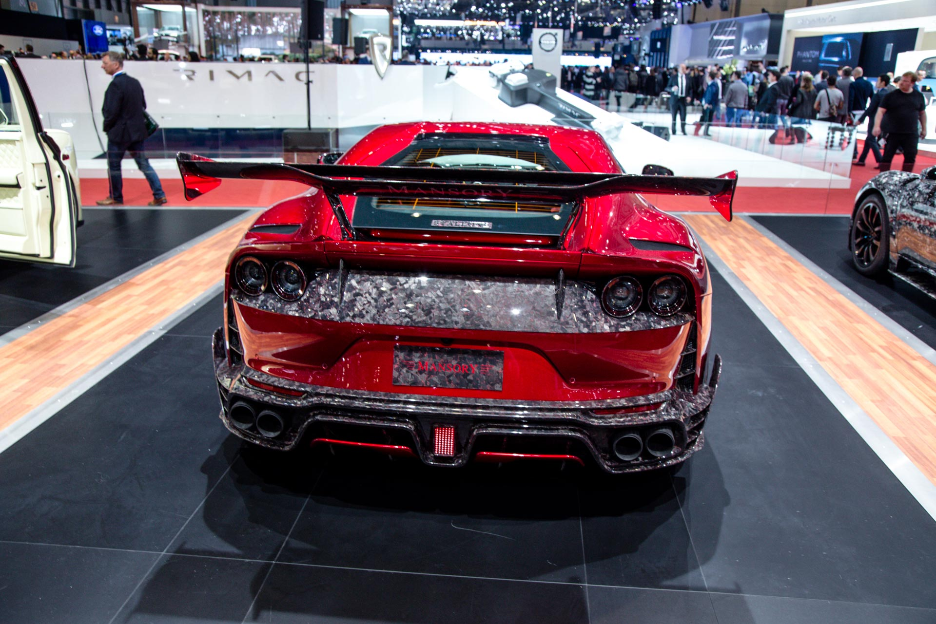 Mansory At The Geneva Motor Show 2018 Gtspirit