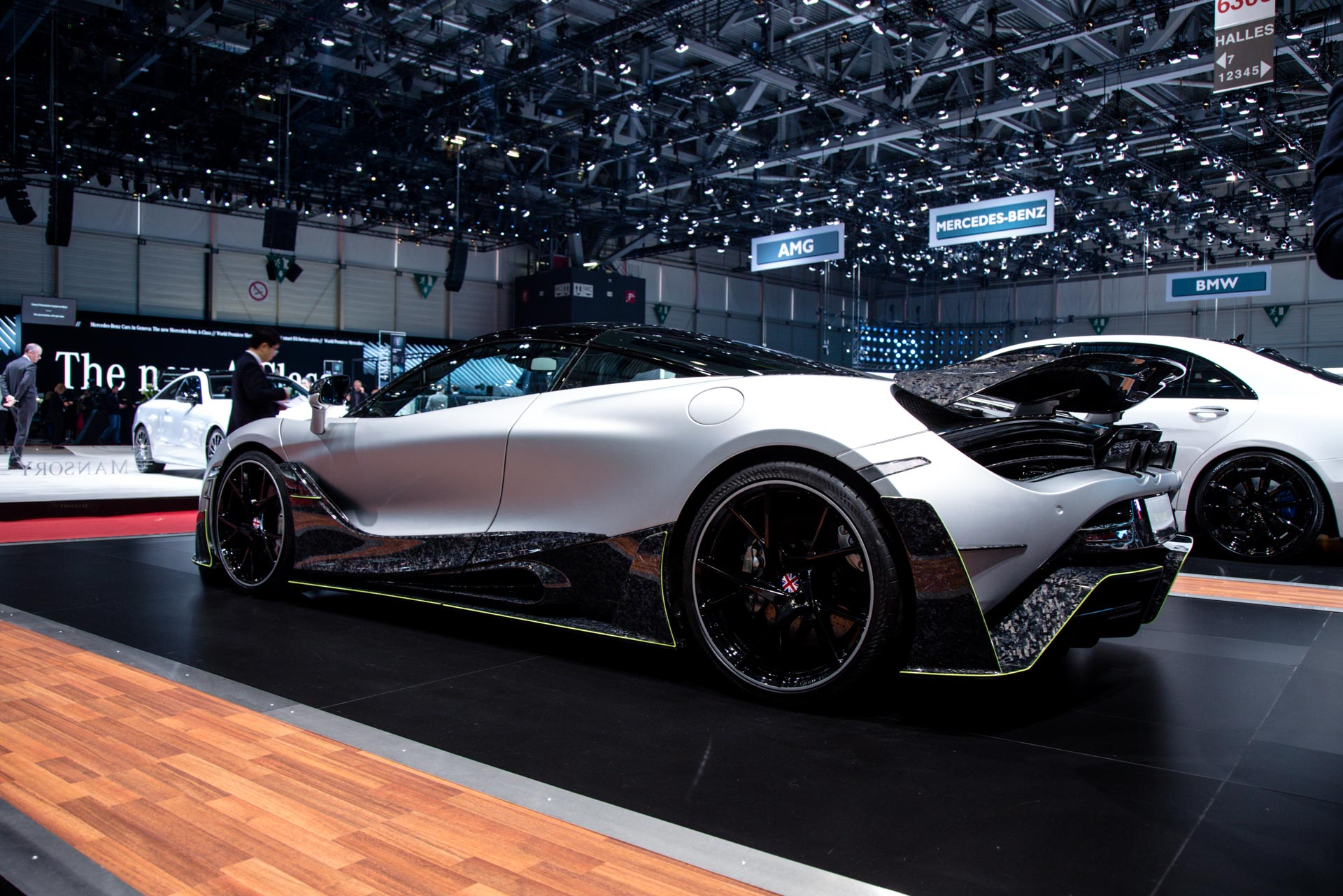 Mansory At The Geneva Motor Show 2018 Gtspirit