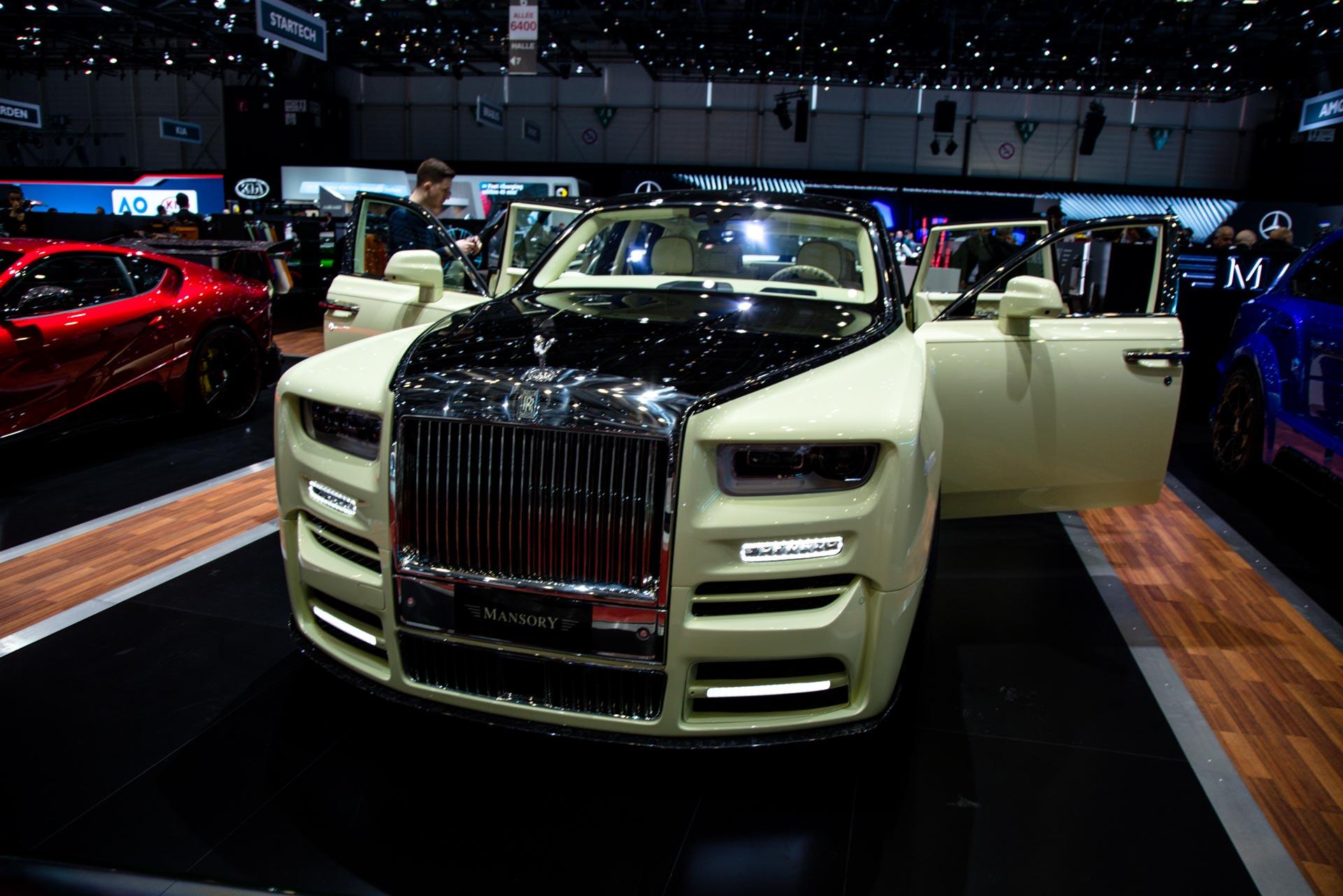 Mclaren P1 For Sale >> Mansory at the Geneva Motor Show 2018 - GTspirit