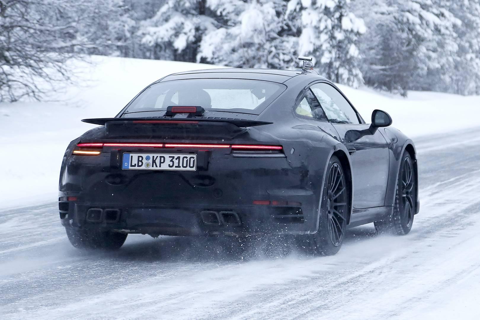 2020 Porsche 911 Turbo Spy Shots - Type 992 Gen