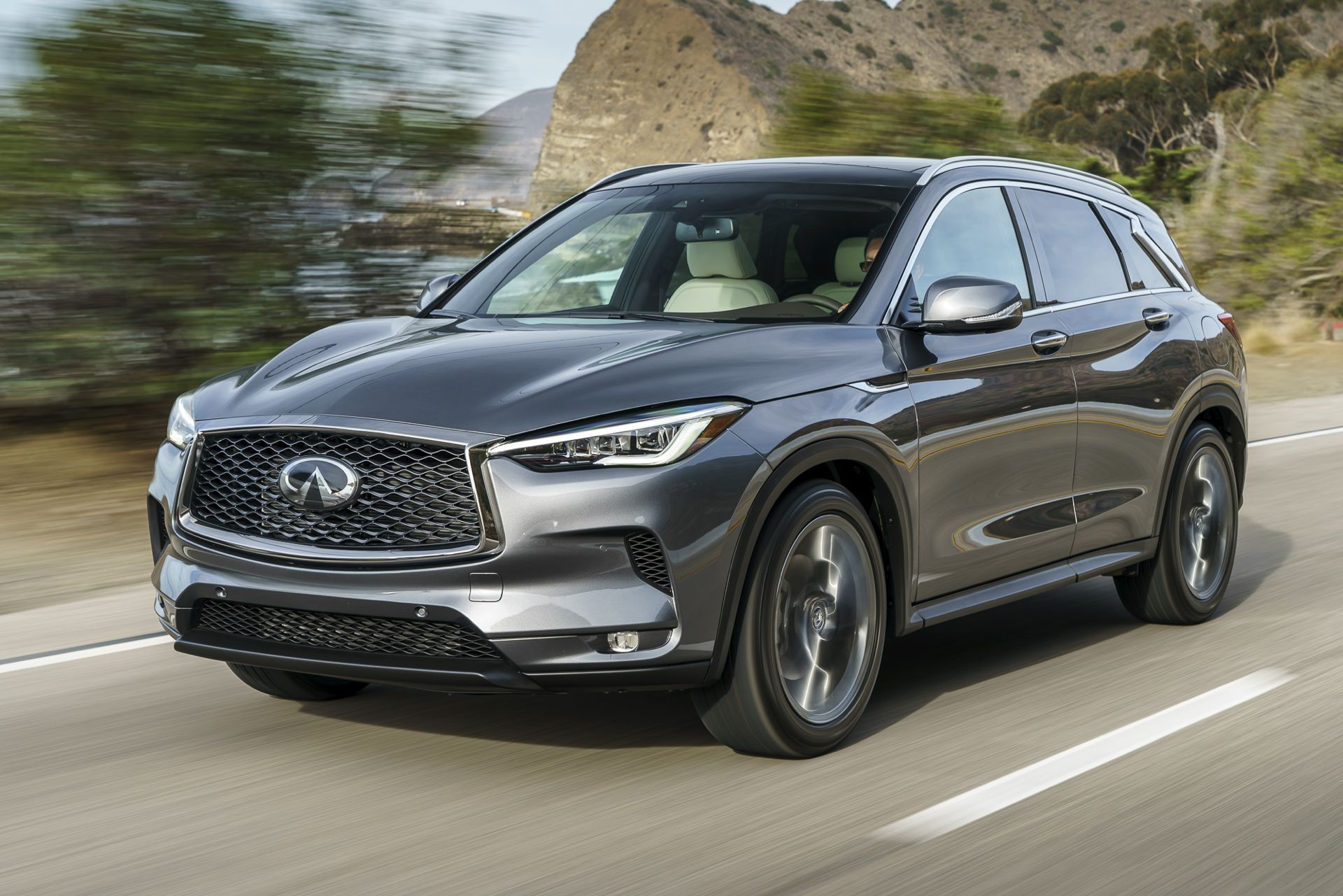 2018 infiniti qx50 first drive hope for a game changer gtspirit. Black Bedroom Furniture Sets. Home Design Ideas