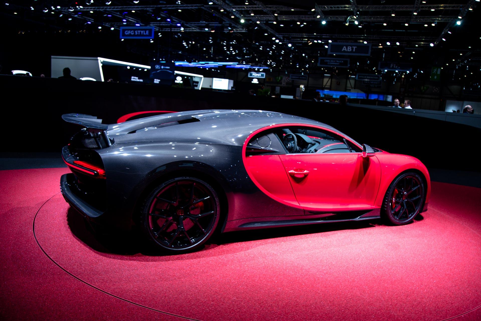 bugatti at the geneva motor show 2018 gtspirit. Black Bedroom Furniture Sets. Home Design Ideas