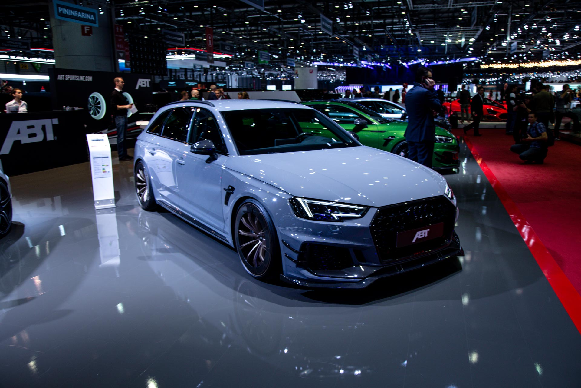 Abt At The Geneva Motor Show 2018 Gtspirit