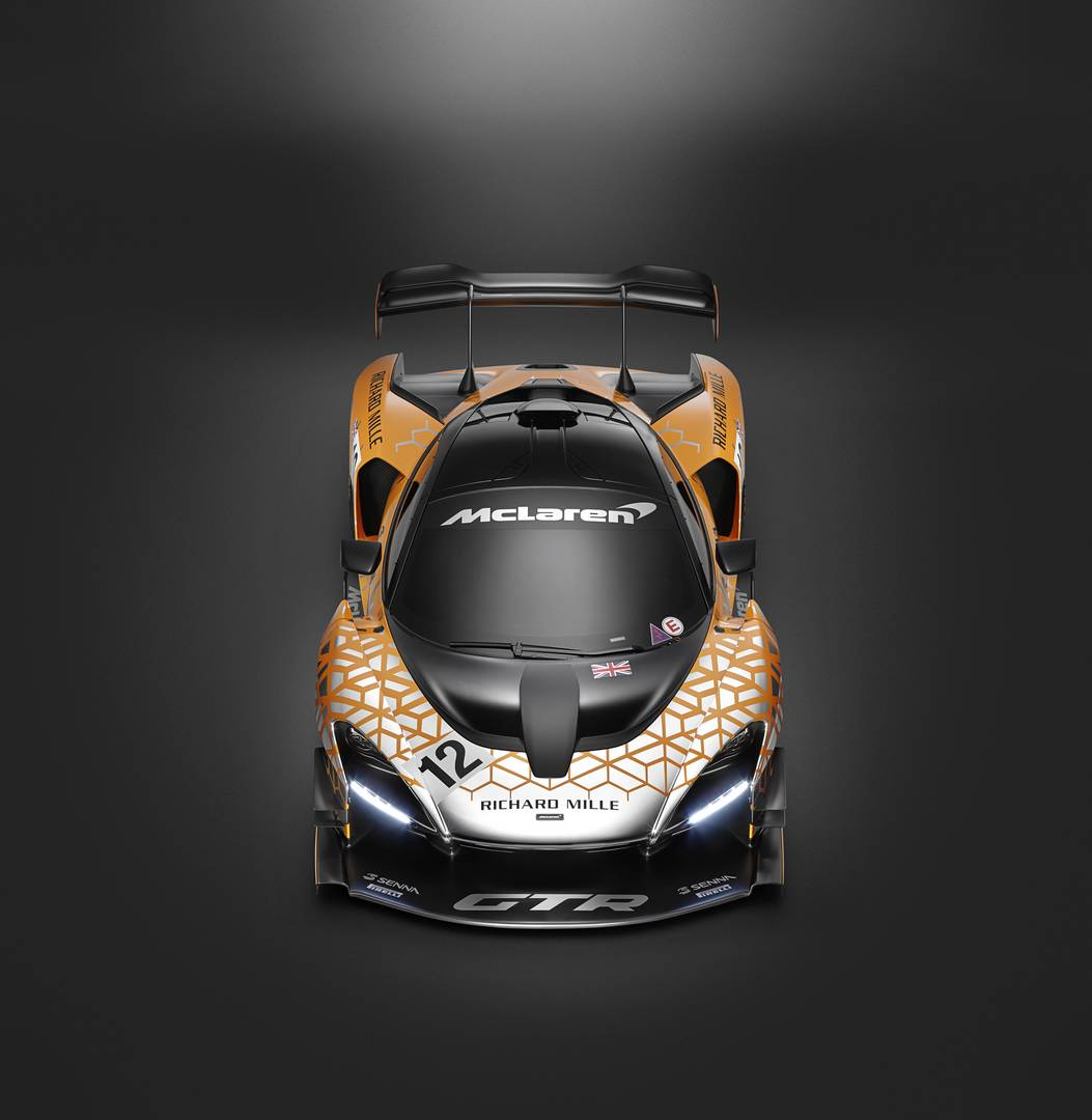 McLaren Senna GTR Concept Throws Down The Gauntlet