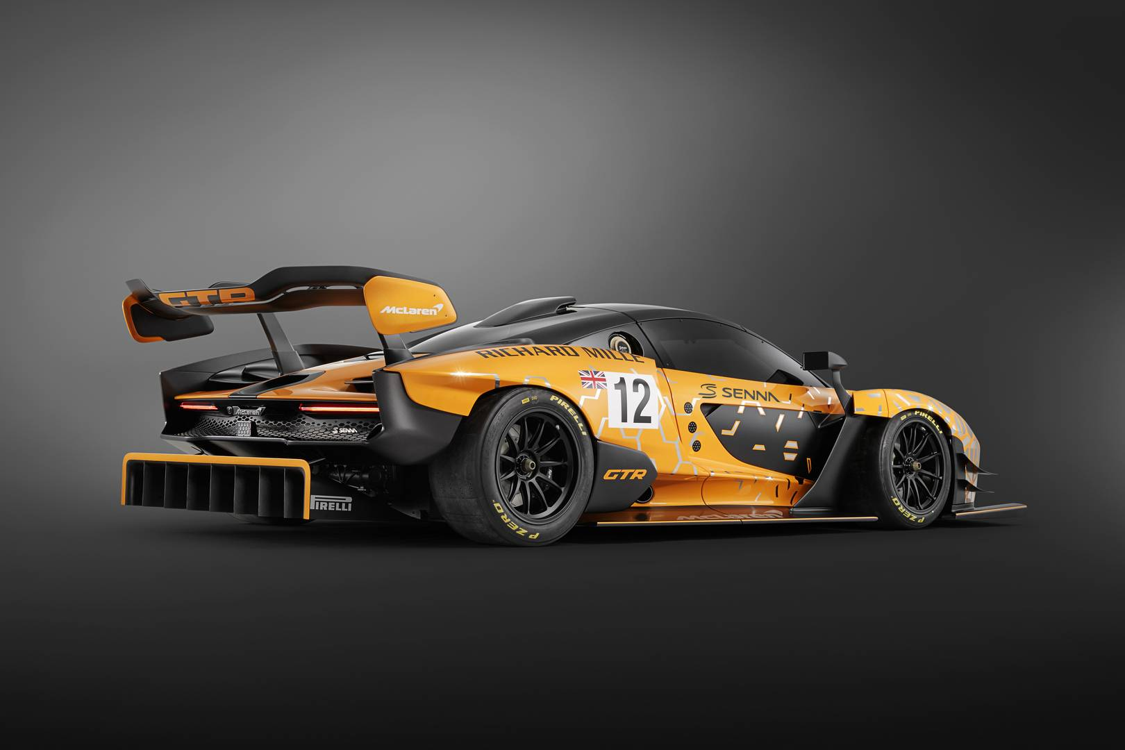 McLaren Senna GTR Concept previews upcoming track monster
