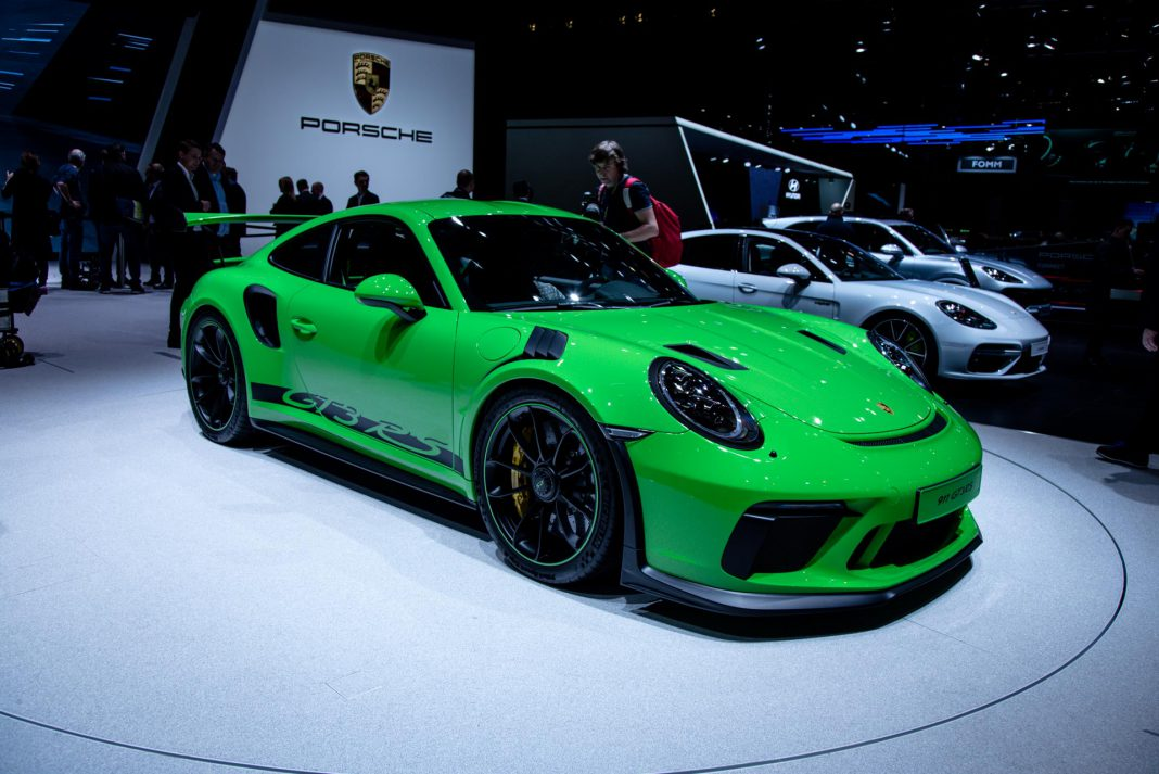 Porsche at the geneva motor show 2018 gtspirit - Auto motor show ...