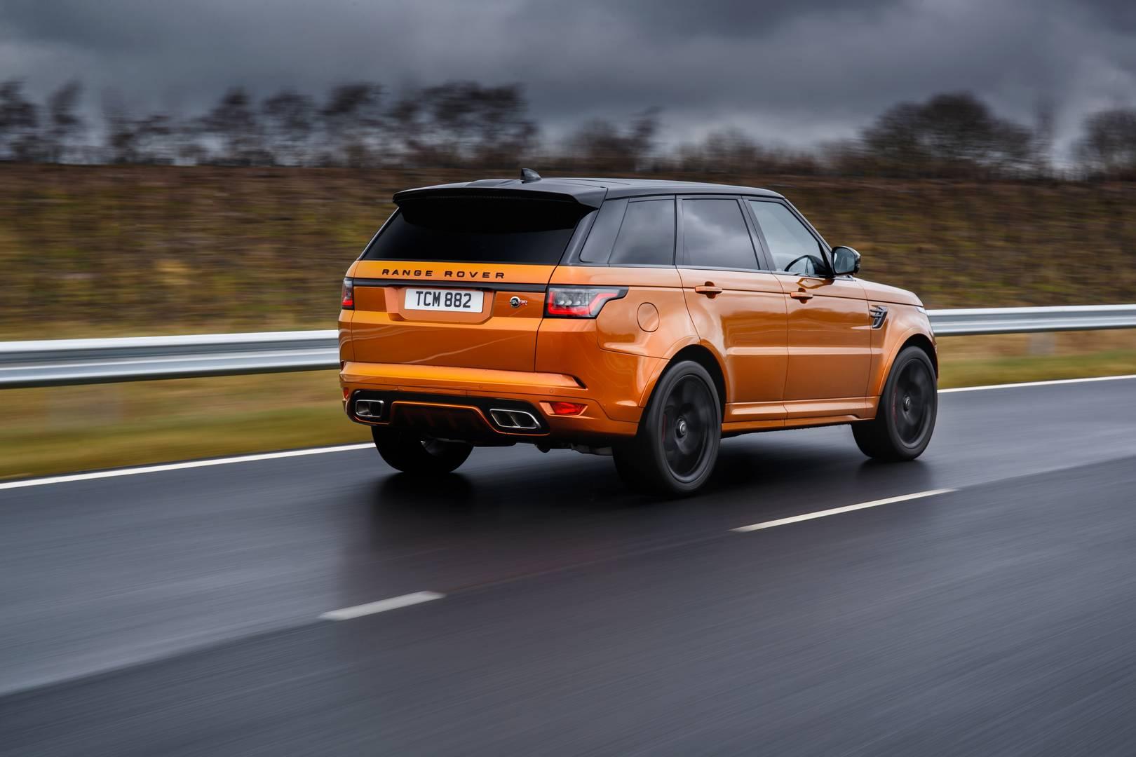 2018 Range Rover Sport SVR Review - GTspirit