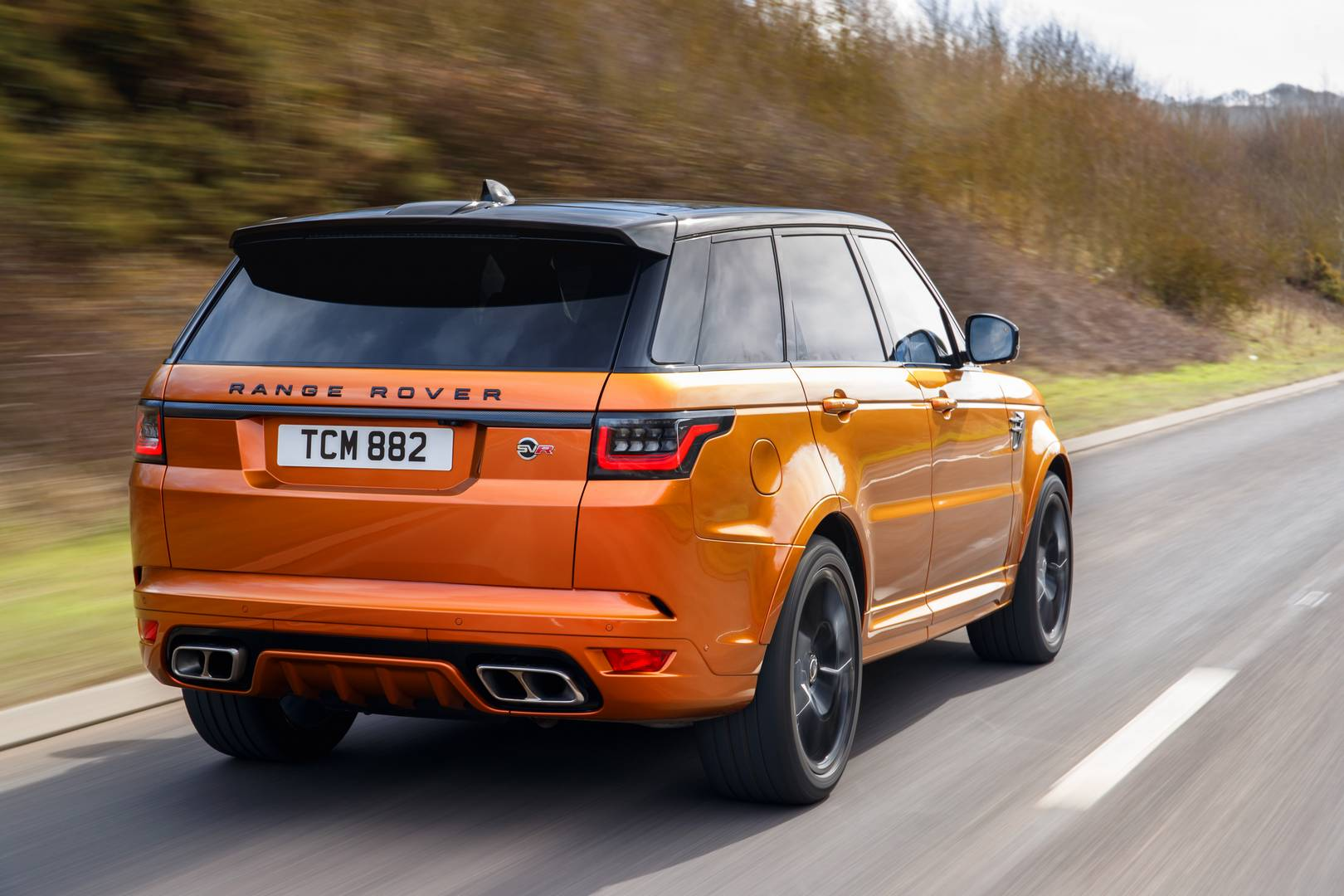 2018 range rover sport svr review gtspirit. Black Bedroom Furniture Sets. Home Design Ideas